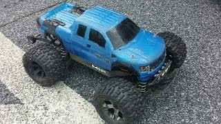 Traxxas Stampede 4x4 with Castle System Run