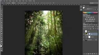 getlinkyoutube.com-Membuat Efek Ray of Light Dengan Gradient di Adobe Photoshop