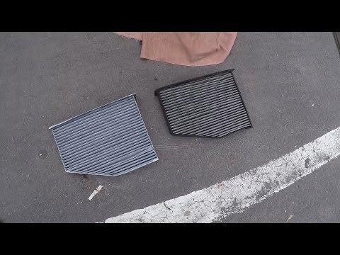 Skoda Yeti - Замена салонного фильтра и чистка кондиционера