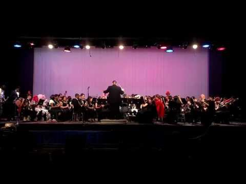Manchester High School Band 2013 Spring Concert - Looney Tunes