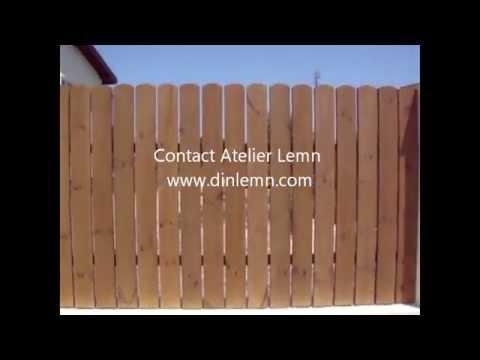 Gard Lemn - Profil Semirotund