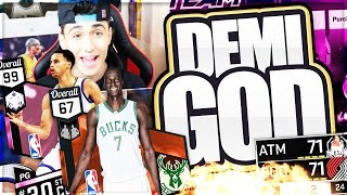 getlinkyoutube.com-CURRY'S COURT #3 - THE CHEESIEST & CHEAPEST DEMIGOD IN THE GAME!! NBA 2K17 MYTEAM
