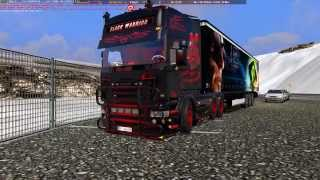 getlinkyoutube.com-Euro Truck Simulator 2 BLACK WARRIOR