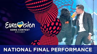Francesco Gabbani - Occidentali's Karma (Italy) Eurovision 2017 - National Final Performance width=