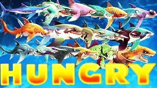 getlinkyoutube.com-Hungry Shark World - Updated All Sharks Supersized Montage (Zombie)