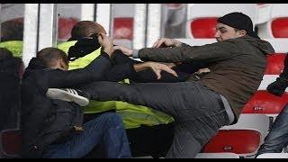 getlinkyoutube.com-Violence and fighting supporters Nice Saint Etienne (Allianz Riviera)
