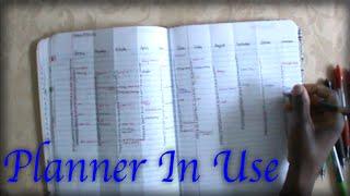 getlinkyoutube.com-DIY Composition Notebook Planner In Use