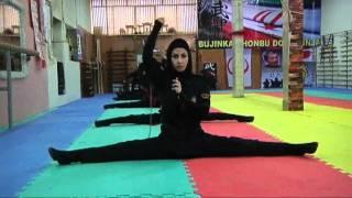 getlinkyoutube.com-Iran's female ninjas in training | Channel 4 News