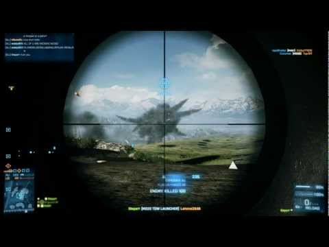 Battlefield 3 - Luckiest ever Kills!