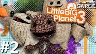 getlinkyoutube.com-Zagrajmy w Little Big Planet 3 [PS4] odc. 2 - Przemiana Newtona