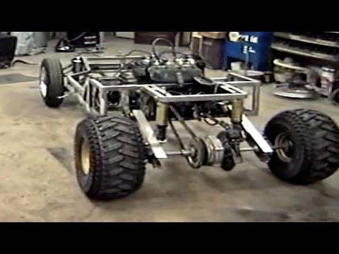 Homemade Go Kart The Build Part 1