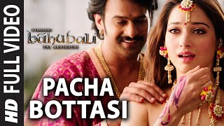 getlinkyoutube.com-Pacha Bottasi Full Video Song || Baahubali (Telugu) || Prabhas, Rana, Anushka, Tamannaah || Bahubali