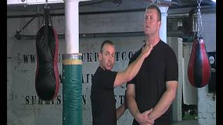 getlinkyoutube.com-Pressure Points Against A Big Attacker. For Use in