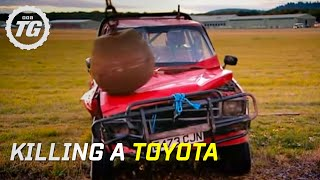 getlinkyoutube.com-Killing a Toyota Part 1 - Top Gear - BBC