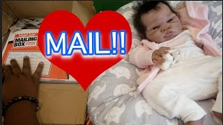 PO BOX OPENING UNBOXING Silicone Reborn Baby Doll Love Mail! All4Reborns!