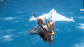 【ジャストコーズ3】戦闘機でカッコよくスタントォォォォォォオ!!