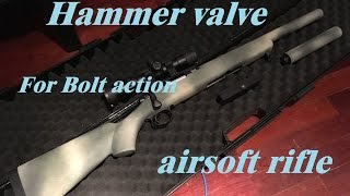 getlinkyoutube.com-Hammer valve for bolt action airsoft rifle