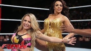 Emma vs. Layla: Raw 21-04-2014