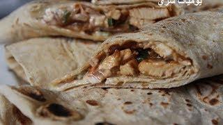 getlinkyoutube.com-يوميات شري طريقة عمل ساندوتشات خبز الصاج