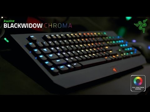 #4STRO TV -- Unboxing/Review Razer Blackwidow Chroma