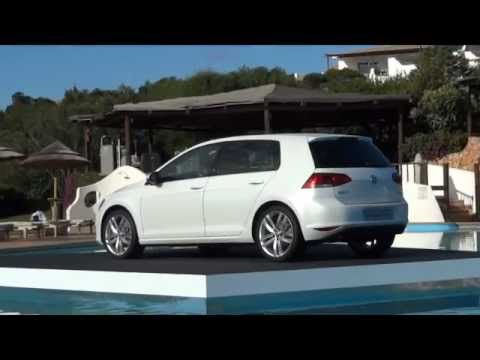 2013 VW GOLF 7 1.4 TSI 140 ch CARAT test drive in Sardinia