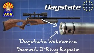 getlinkyoutube.com-Daystate Wolverine Barrel O-ring - Repair