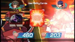 getlinkyoutube.com-Bakugan: Battle Brawlers (XBox 360) - Dan vs. Chan Lee