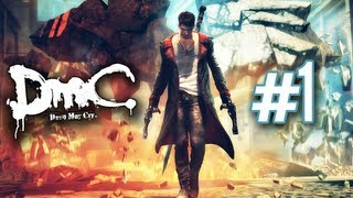 "getlinkyoutube.com-DmC: Devil May Cry - Walkthrough Part 1 Mission 1 ""Found"" Let's Play Gameplay No Commentary"