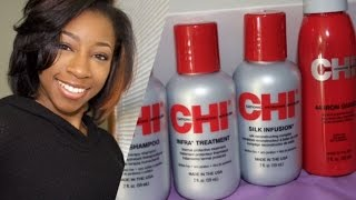 getlinkyoutube.com-Review | Straightening w Chi Infra Collection
