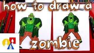 getlinkyoutube.com-How To Draw A Zombie From Scooby Doo