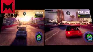 getlinkyoutube.com-Dirt showdown intel gma 4500m normal vs modded driver
