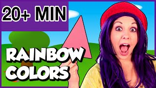 Learning Colors for Toddlers, Kids, and Babies | Colors of the Rainbow | Color Compilation