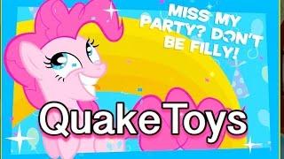 getlinkyoutube.com-Newest My Little Pony Friendship Celebration Cutie Mark Magic App Game MLP Pinkie Pie RC Scan