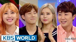 getlinkyoutube.com-Hello Counselor - Hong Jinho, Jun Hyoseong, Kim Sungkyu & Lim Kim  (2015.03.02)
