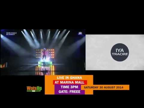 WatsUp TV presents IYA TRAORE - LIVE IN GHANA