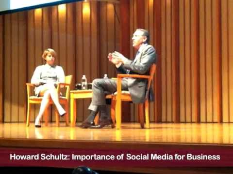 Howard Schultz The Importance of Social Media for Business