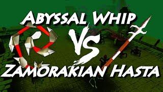 getlinkyoutube.com-Zamorakian Hasta VS Abyssal Whip