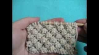 getlinkyoutube.com-Knitting How To: Trinity Stitch
