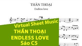 getlinkyoutube.com-Sheet music: Thần thoại (Endless love) - Flute
