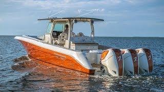 getlinkyoutube.com-2014 Custom Build HydraSports Custom 4200 Siesta w/ 3 Seven Marine 557s