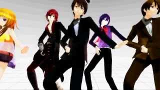 getlinkyoutube.com-[MMD] [FNAF - Gentleman]