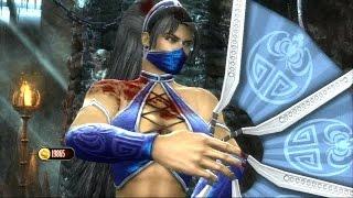 Mortal Kombat 9 - Jade & Kitana Tag Team Ladder Gameplay Playthrough