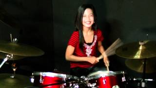 ST12   PUSPA   Drum Cover By Nur Amira Syahira