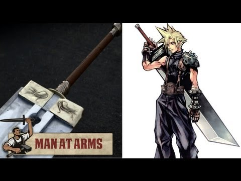 Building Cloud's Buster Sword (Final Fantasy VII) - MAN AT ARMS