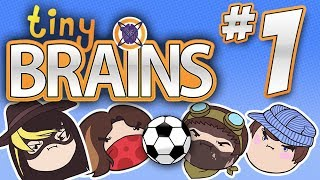 getlinkyoutube.com-Tiny Brains: Tiny Soccer! - PART 1 - Steam Rolled