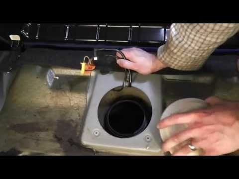 Fiat Punto Fuel Pump Change