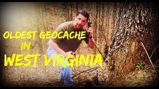 getlinkyoutube.com-WV's OLDEST GEOCACHE!!!