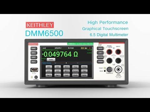 DMM6500 není jen ozdobou stolu