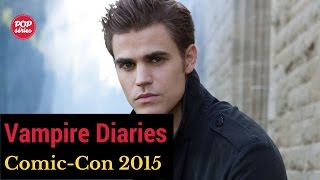 SDCC 2015: entrevista com Paul Wesley de The Vampire Diaries