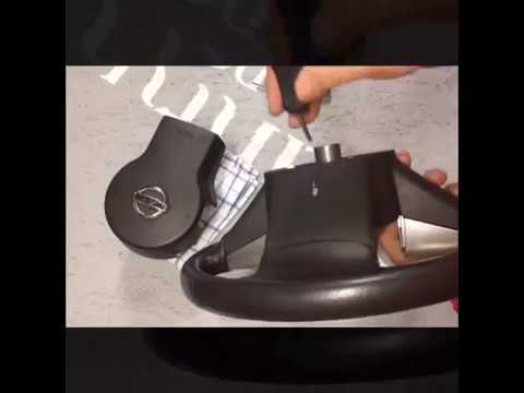 Jak sundat volant airbag Nissan Navara - VOLANTY.CZ